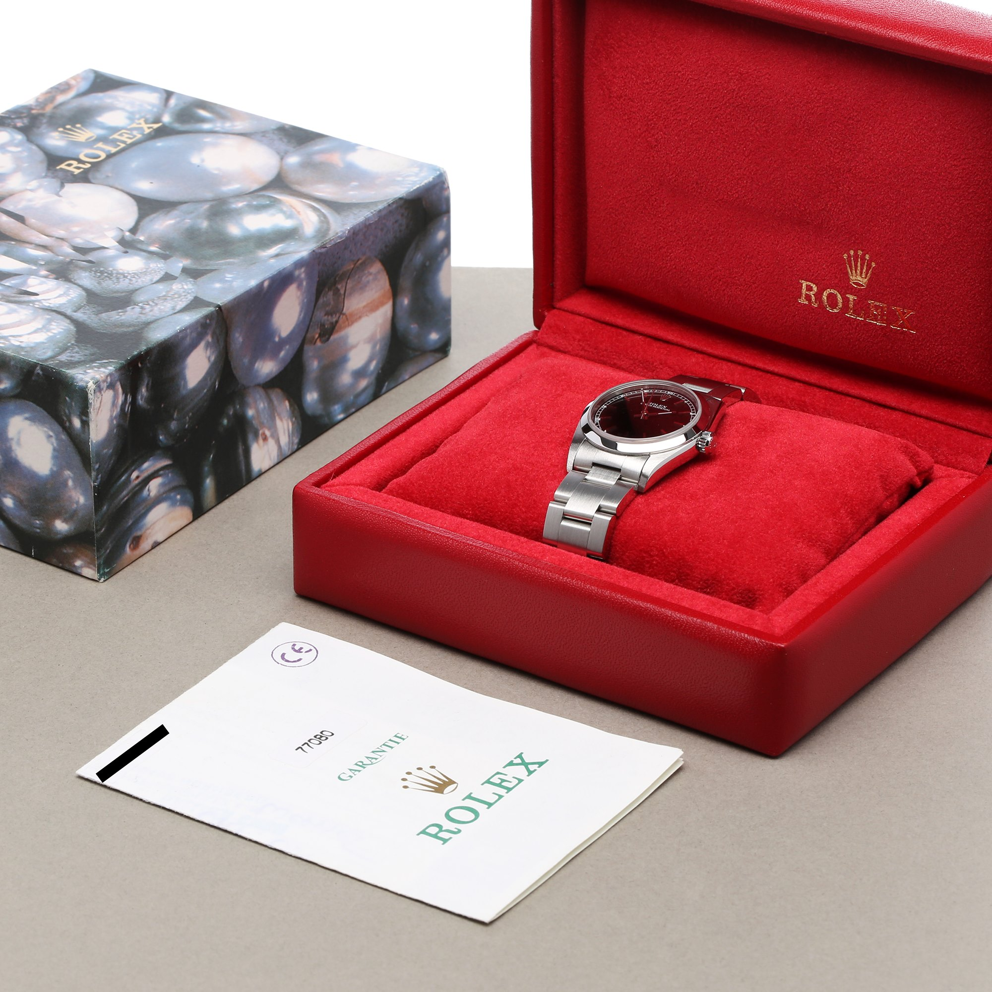 Rolex Oyster Perpetual Stainless Steel 77080