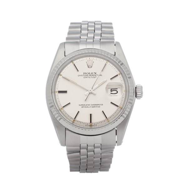 Rolex Datejust 36 Sigma Dial 18K White Gold & Stainless Steel - 1601