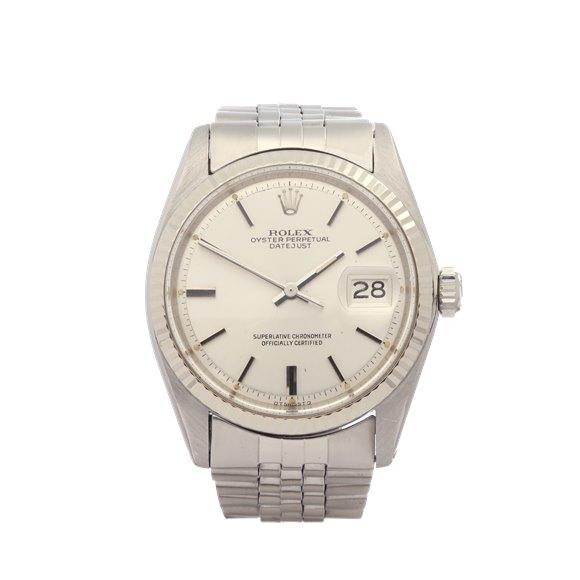 Rolex Datejust 36 18K Stainless Steel & White Gold - 1601