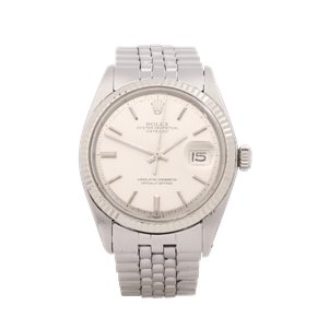 Rolex Datejust 36 18K Stainless Steel & White Gold - 1601