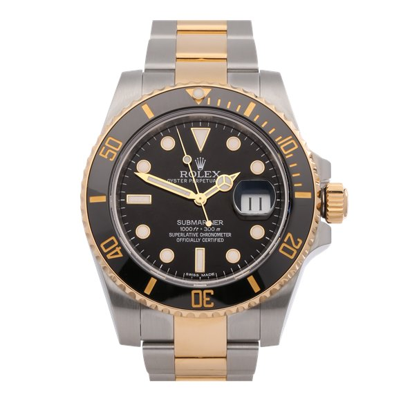 Rolex Submariner Date 18K Yellow Gold & Stainless Steel - 116613