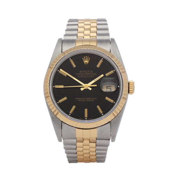 Rolex Datejust 36 18K Yellow Gold & Stainless Steel - 16233