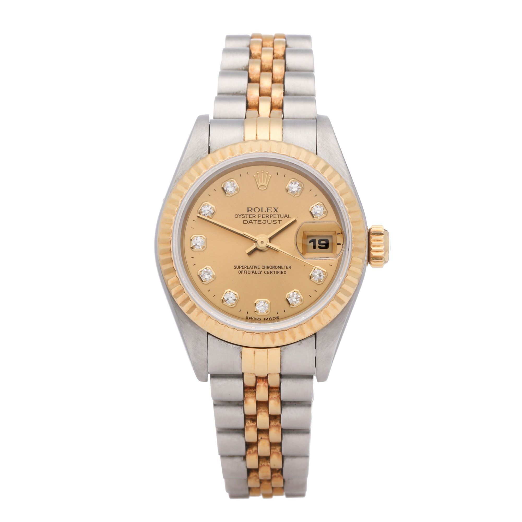 Rolex Datejust 26 18K Yellow Gold & Stainless Steel 69173G