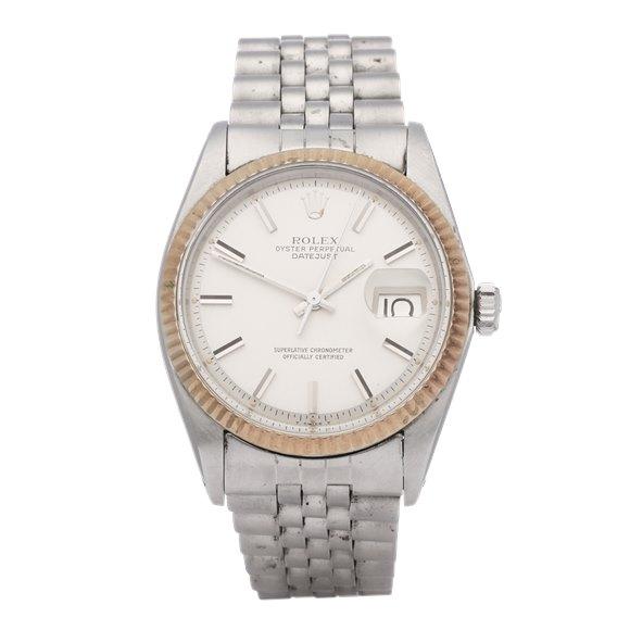 Rolex Datejust 36 18K White Gold & Stainless Steel - 1601