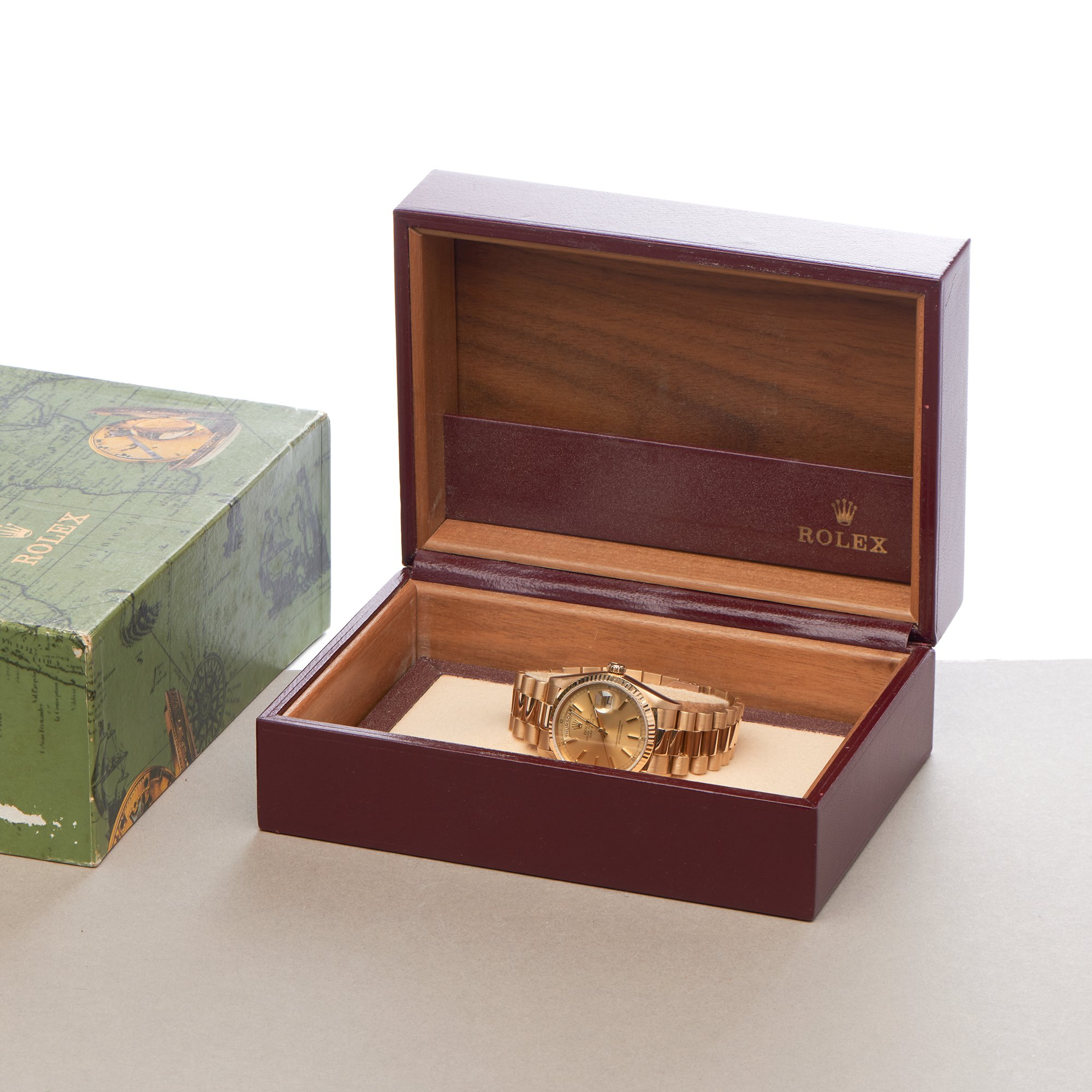 Rolex Day-Date 18K Yellow Gold 18038