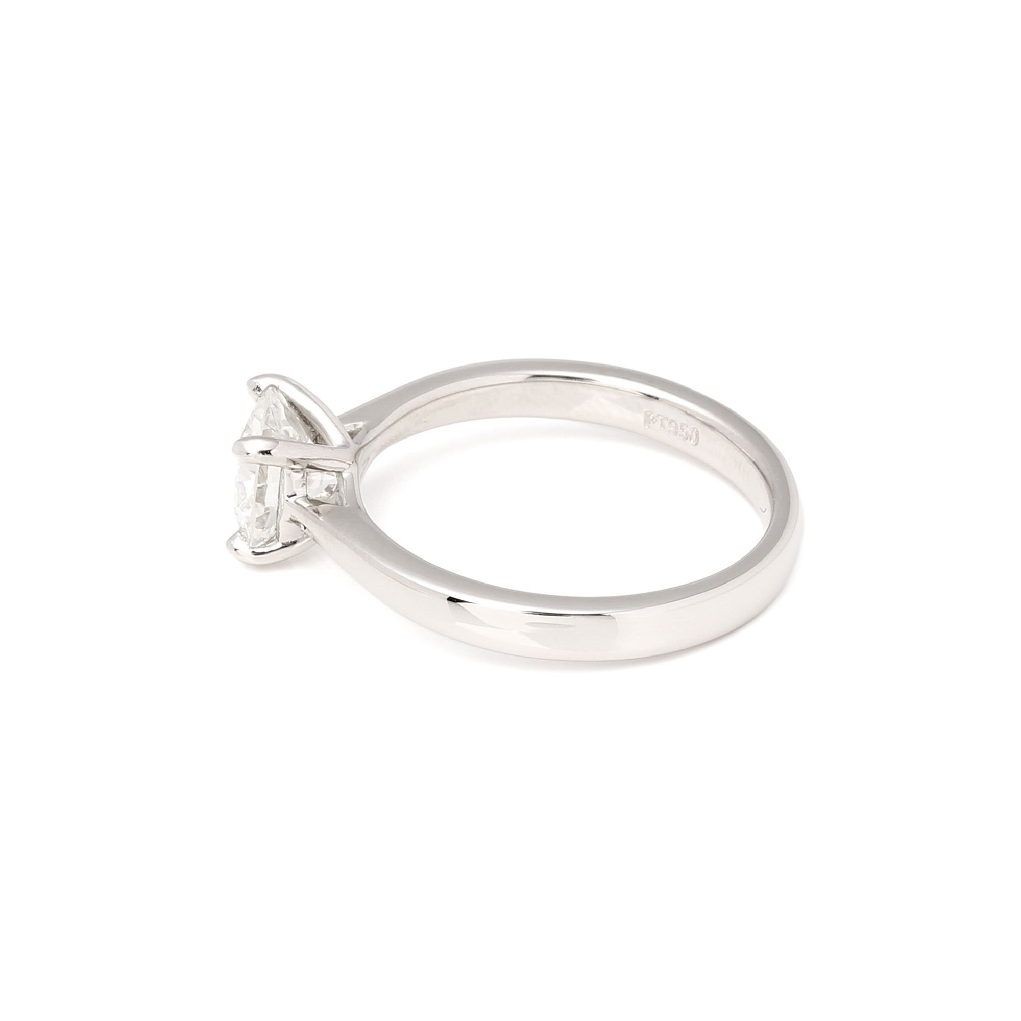 Diamond 1.1ct Diamond Solitaire Platinum Ring