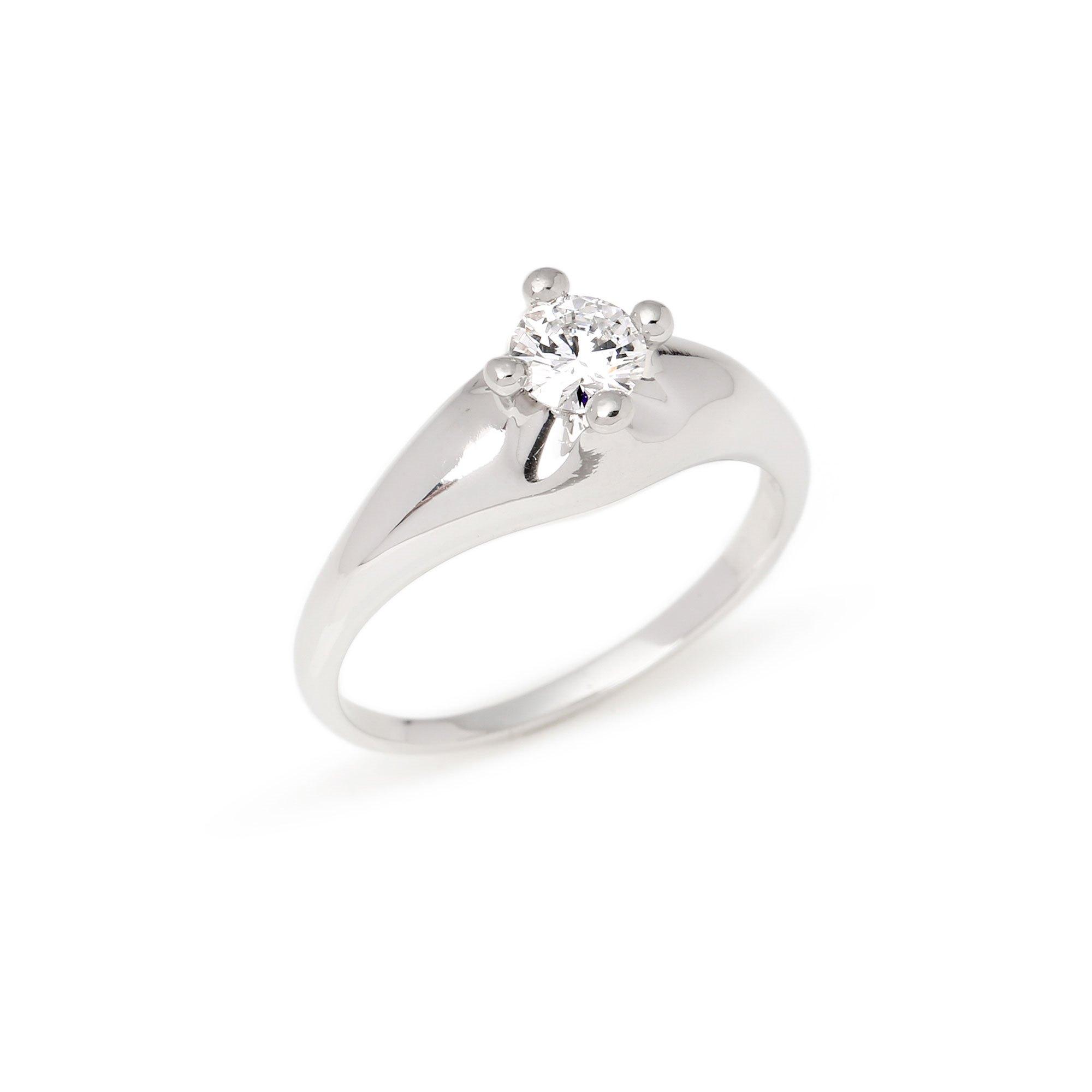 Bulgari Corona Solitaire Diamond Ring