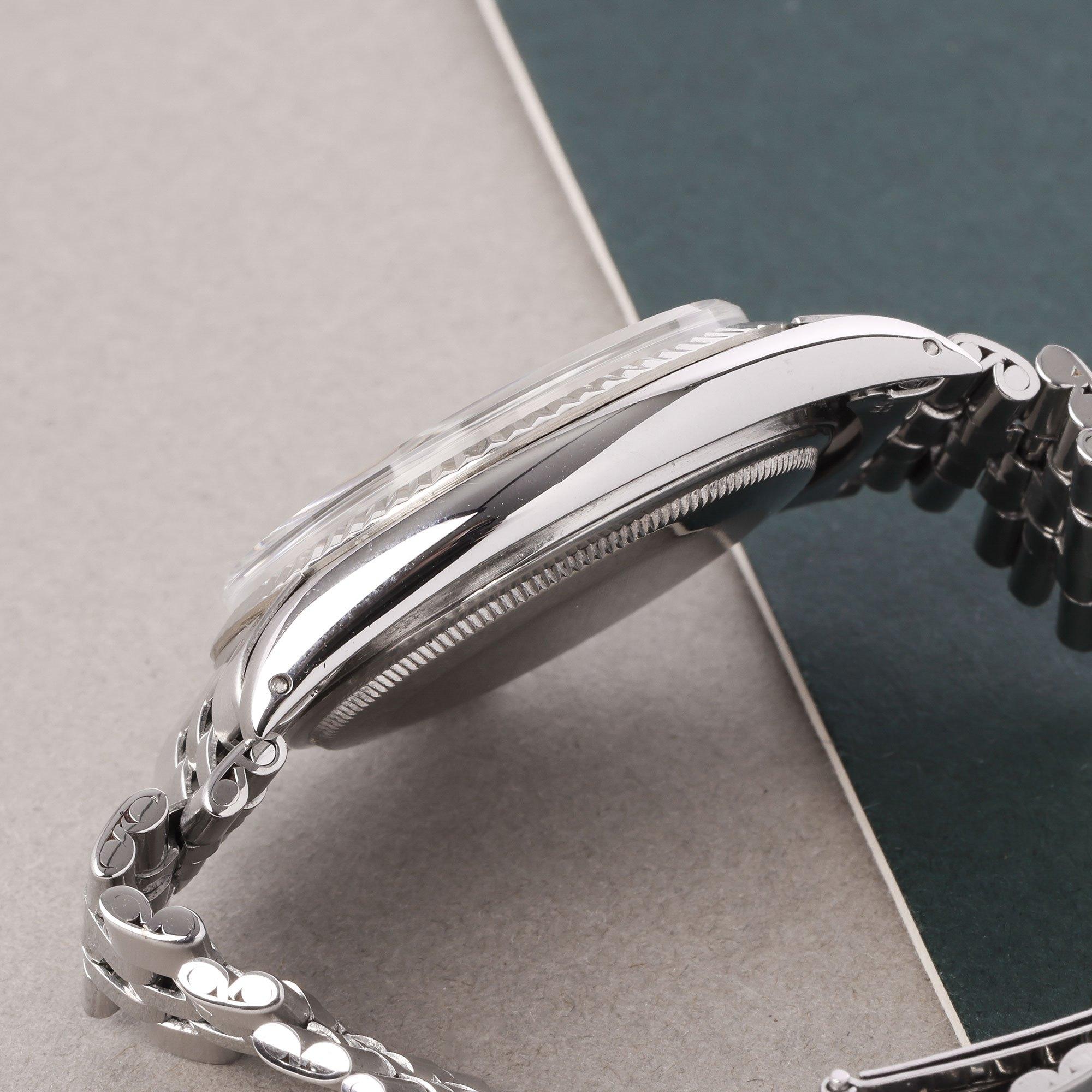 Rolex Datejust 36 Sword Hands 18K White Gold & Stainless Steel 1601