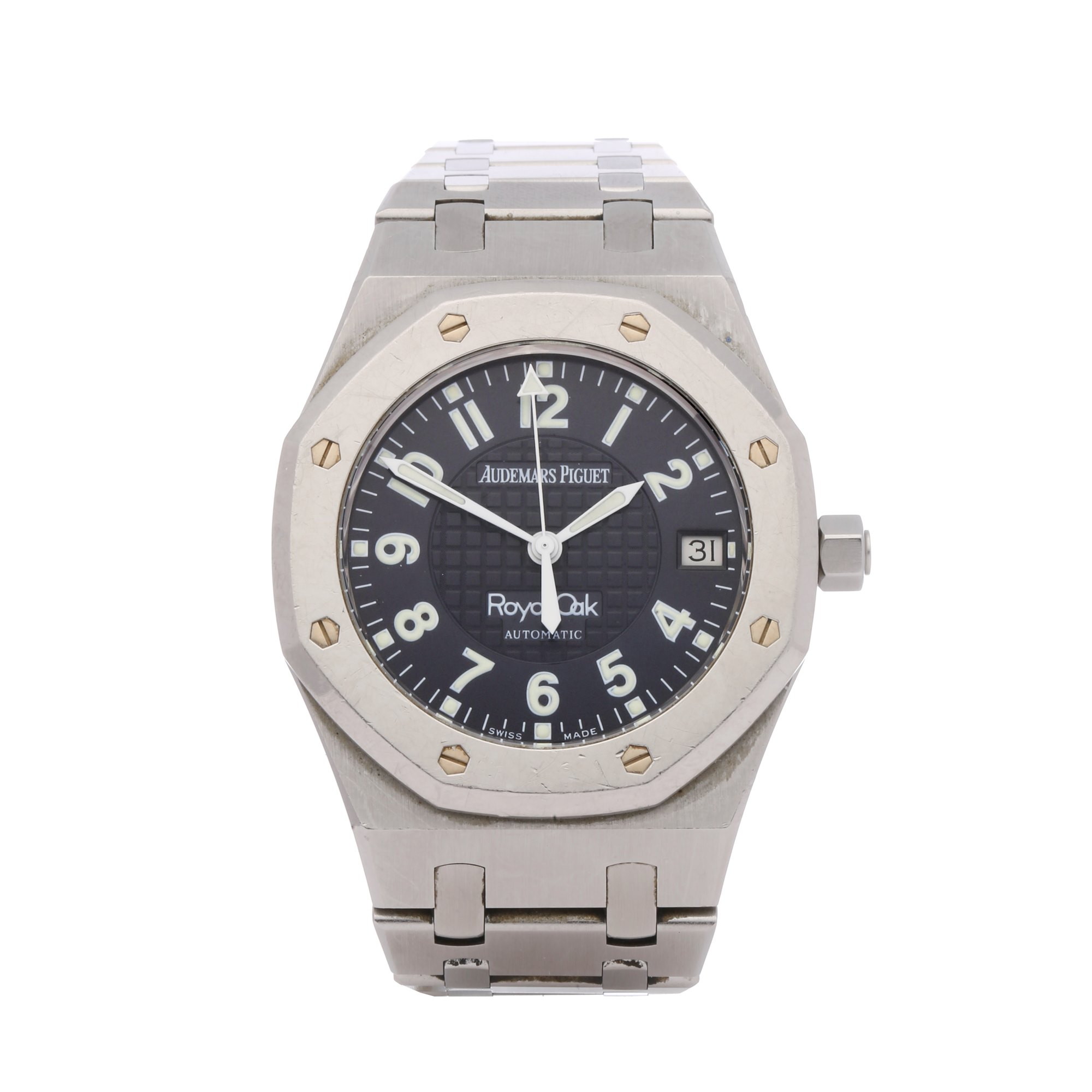 Audemars Piguet Royal Oak Nick Faldo Ltd Ed & Golf Clubs Platinum & Stainless Steel - 15190SP.OO.0789ST Platinum & Stainless Steel 15190SP.OO.0789ST
