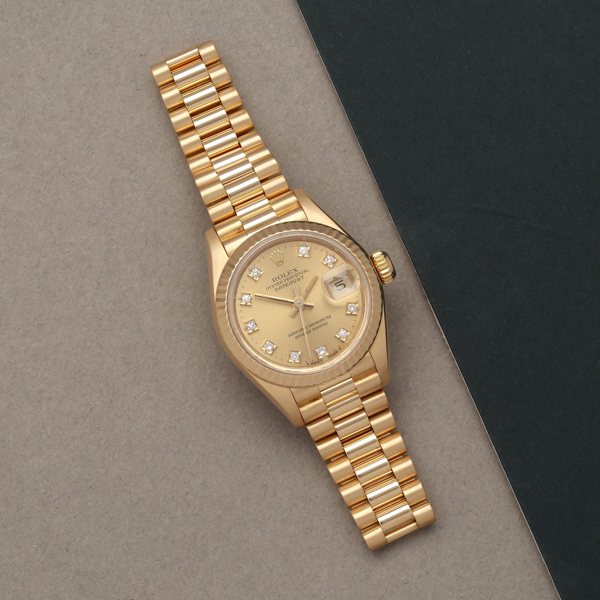 Rolex Datejust 26 18K Geel Goud 69178G