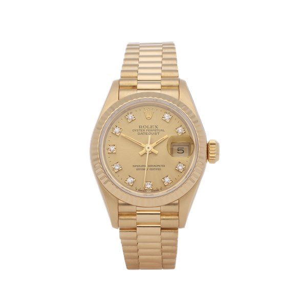 Rolex Datejust 26 18K Yellow Gold - 69178G