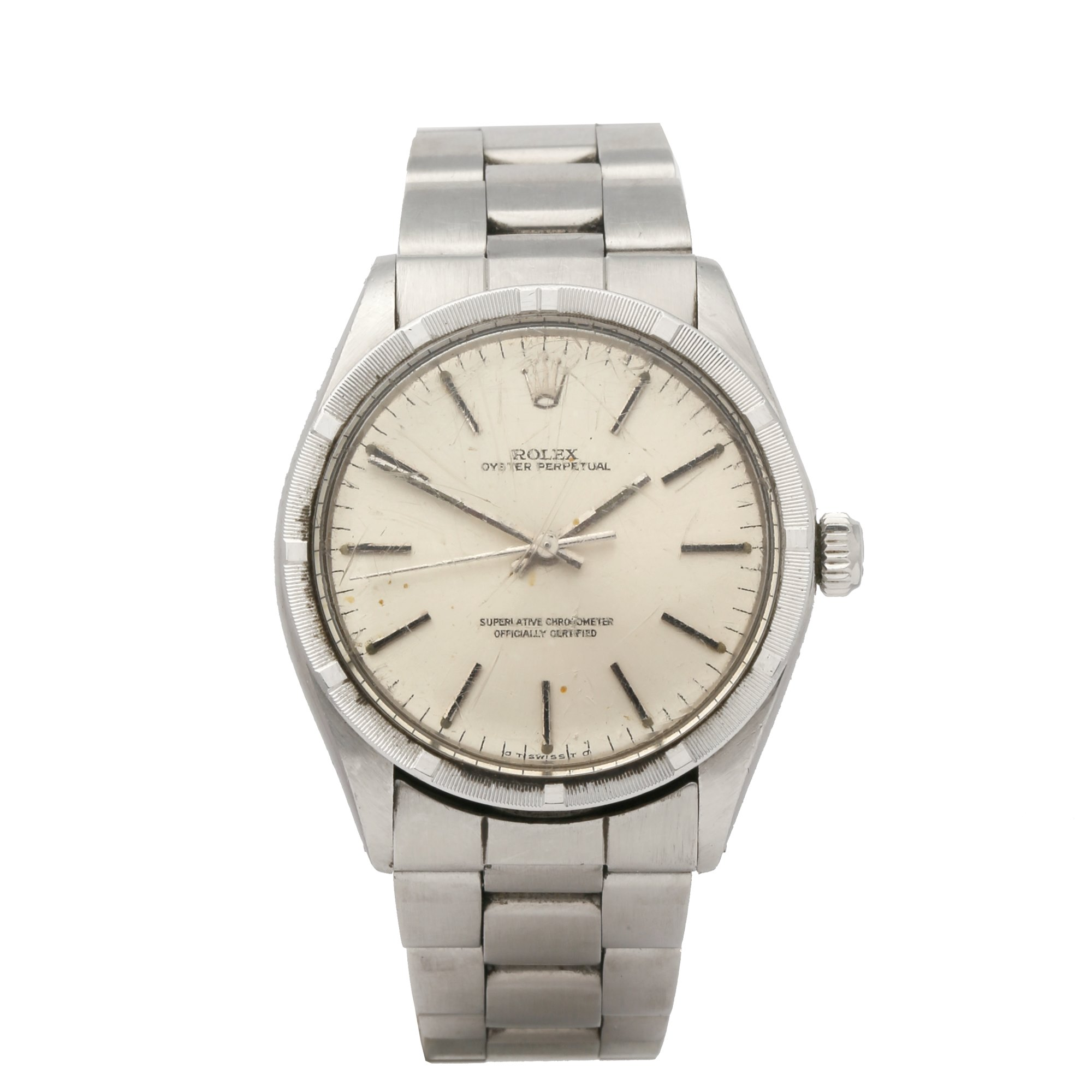 Rolex Oyster Perpetual 34 Stainless Steel 1007