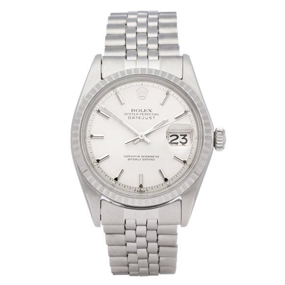 Rolex Datejust 36 18K White Gold & Stainless Steel - 1603