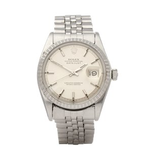 Rolex Datejust 36 18K White Gold & Stainless Steel - 1603