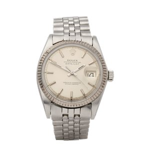Rolex Datejust 36 18K White Gold & Stainless Steel - 1601