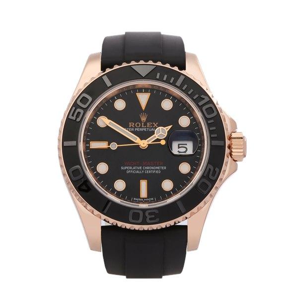 Rolex Yacht-Master 18K Rose Gold - 116655