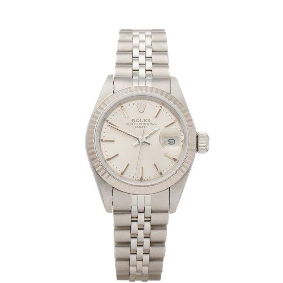 Rolex Datejust 26 18K Stainless Steel & White Gold - 69174