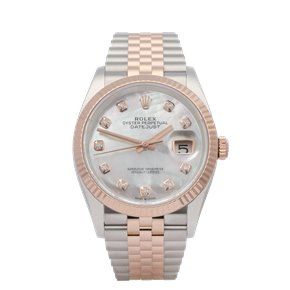 Rolex Datejust 36 18K Rose Gold & Stainless Steel - 126231