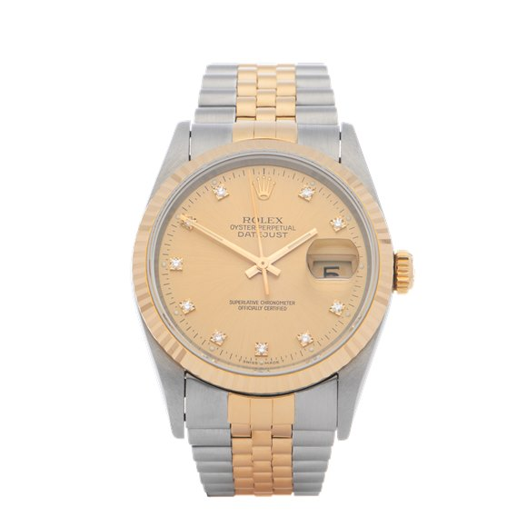 Rolex Datejust 36 18K Yellow Gold & Stainless Steel - 16233G
