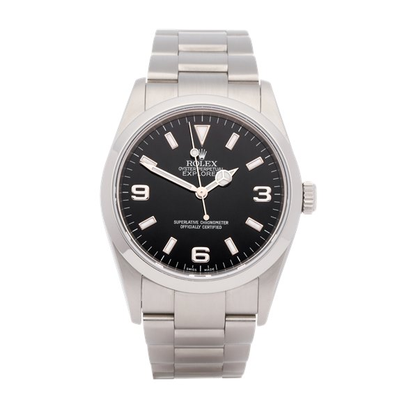Rolex Explorer Stainless Steel - 114270