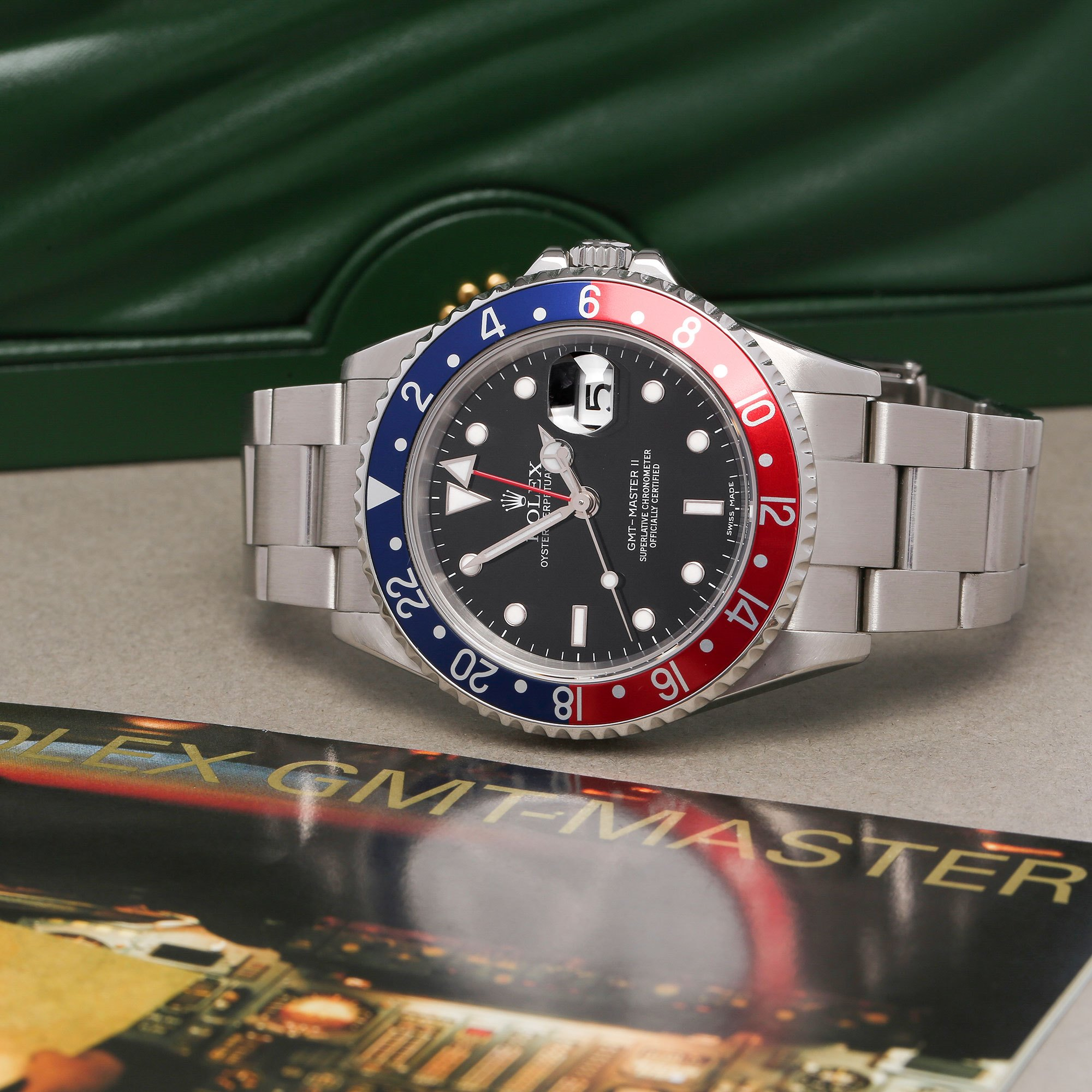 Rolex GMT-Master II 'Stick Dial' Stainless Steel 16710