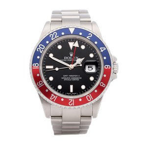 Rolex GMT-Master II 'Stick Dial' Stainless Steel - 16710