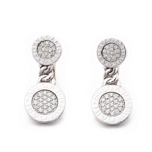 Bulgari Bulgari Bulgari Diamond Earrings