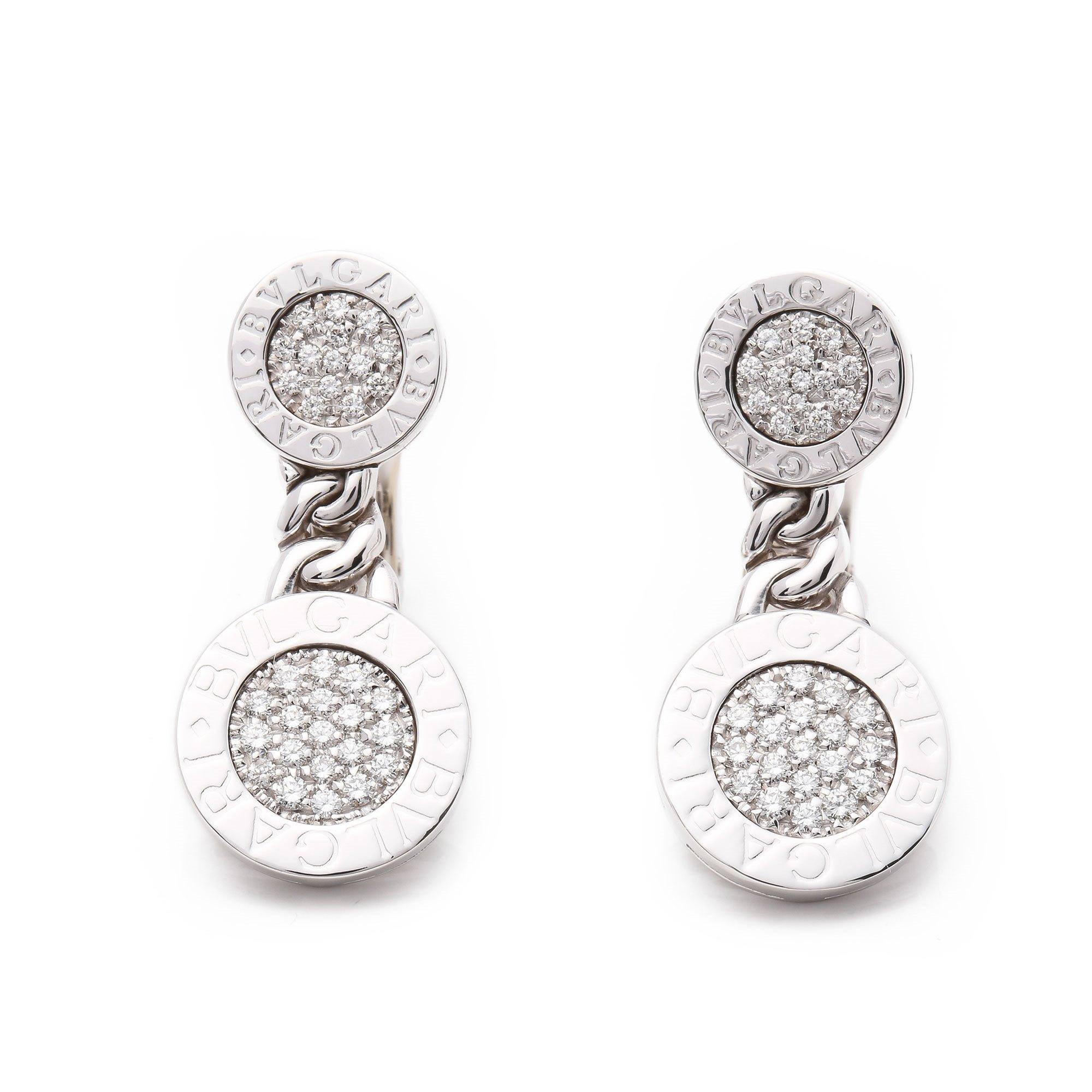 Bulgari Bulgari Bulgari Diamond Earrings