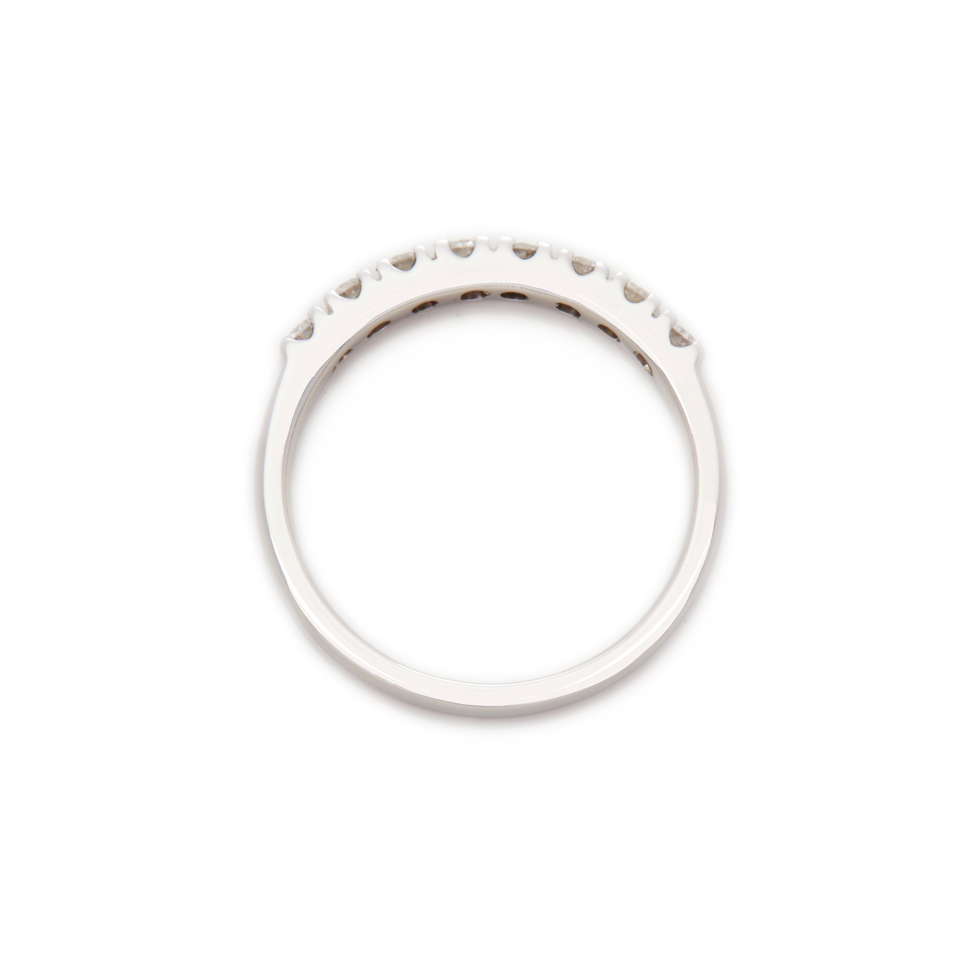 Diamanten 18ct White Gold Diamond Eternity Ring