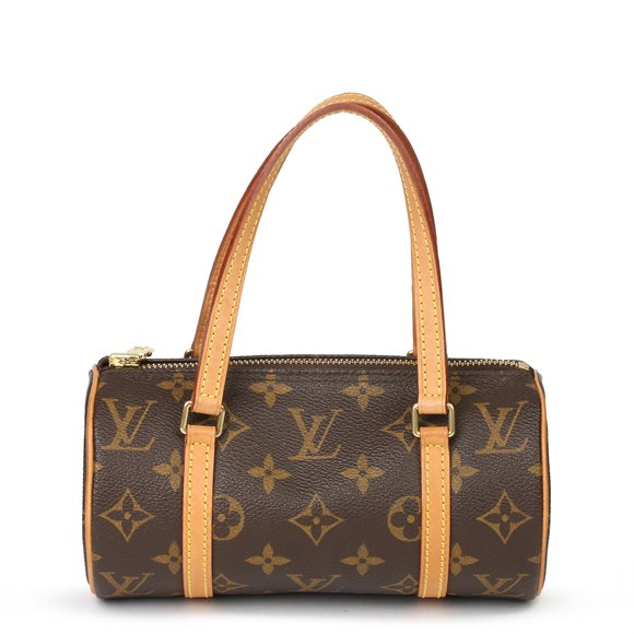 Louis Vuitton Brown Monogram Coated Canvas & Vachetta Leather Mini Papillion