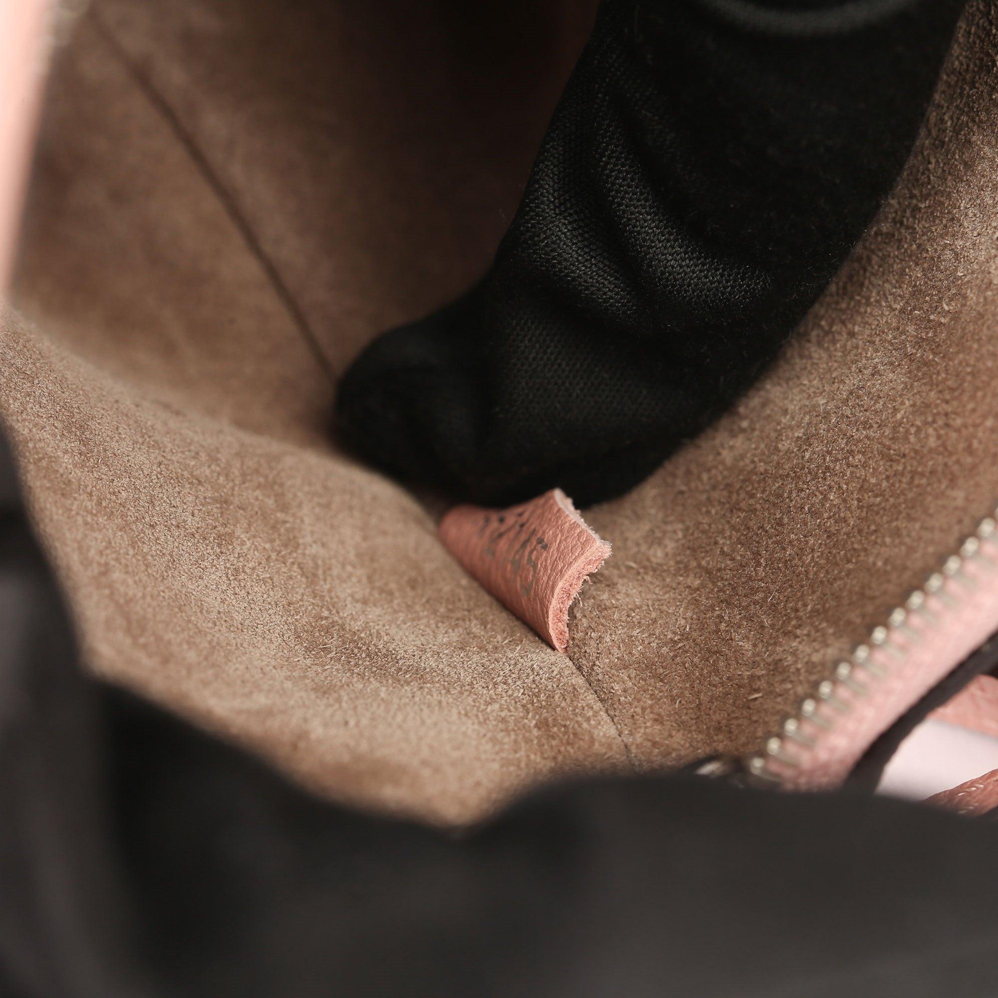 Louis Vuitton Magnolia Veau Cachemire Leather Nano Rock It