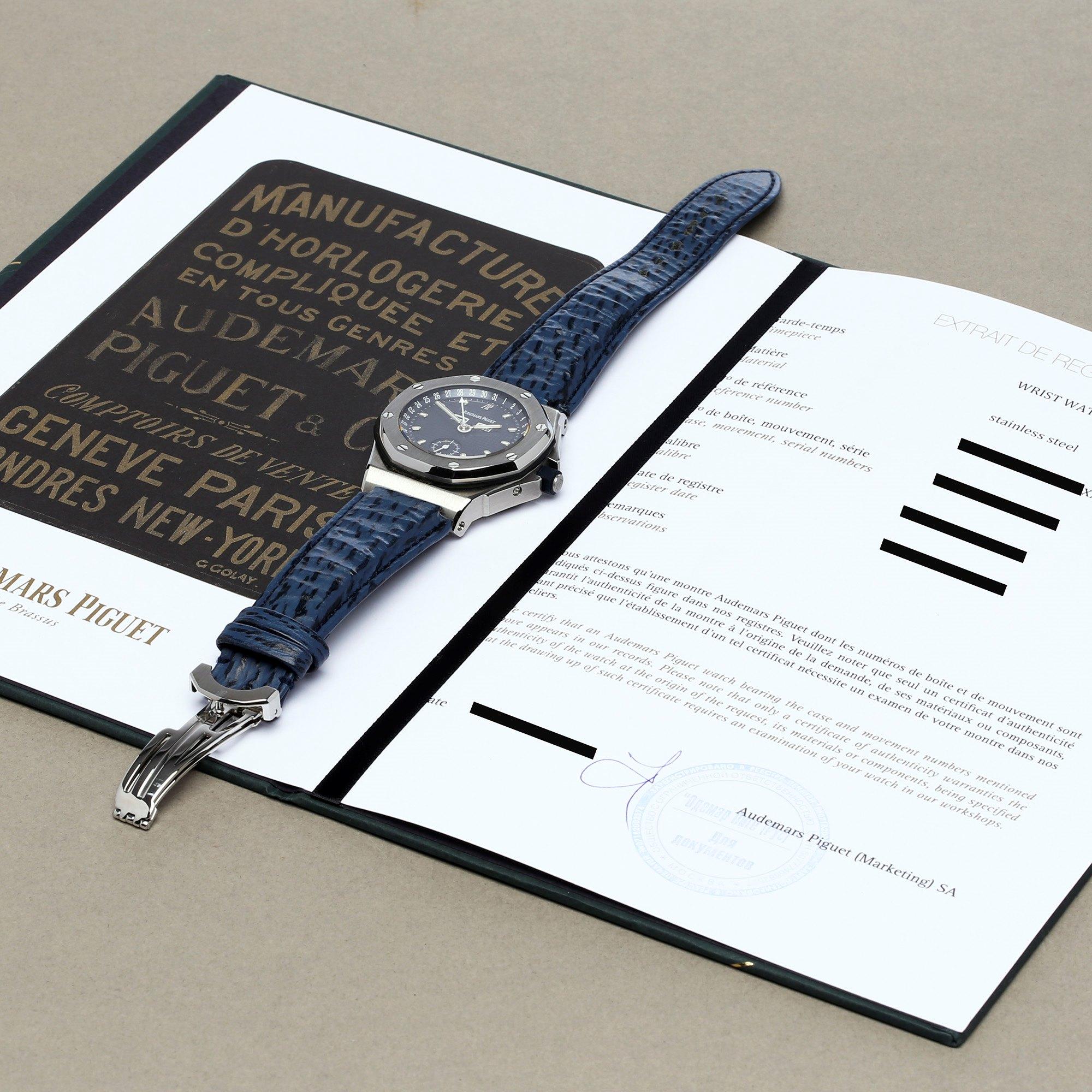 Audemars Piguet Royal Oak Offshore 'Triple Calendar' Stainless Steel 25808