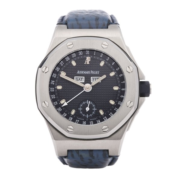 Audemars Piguet Royal Oak Offshore 'Triple Calendar' Stainless Steel - 25808