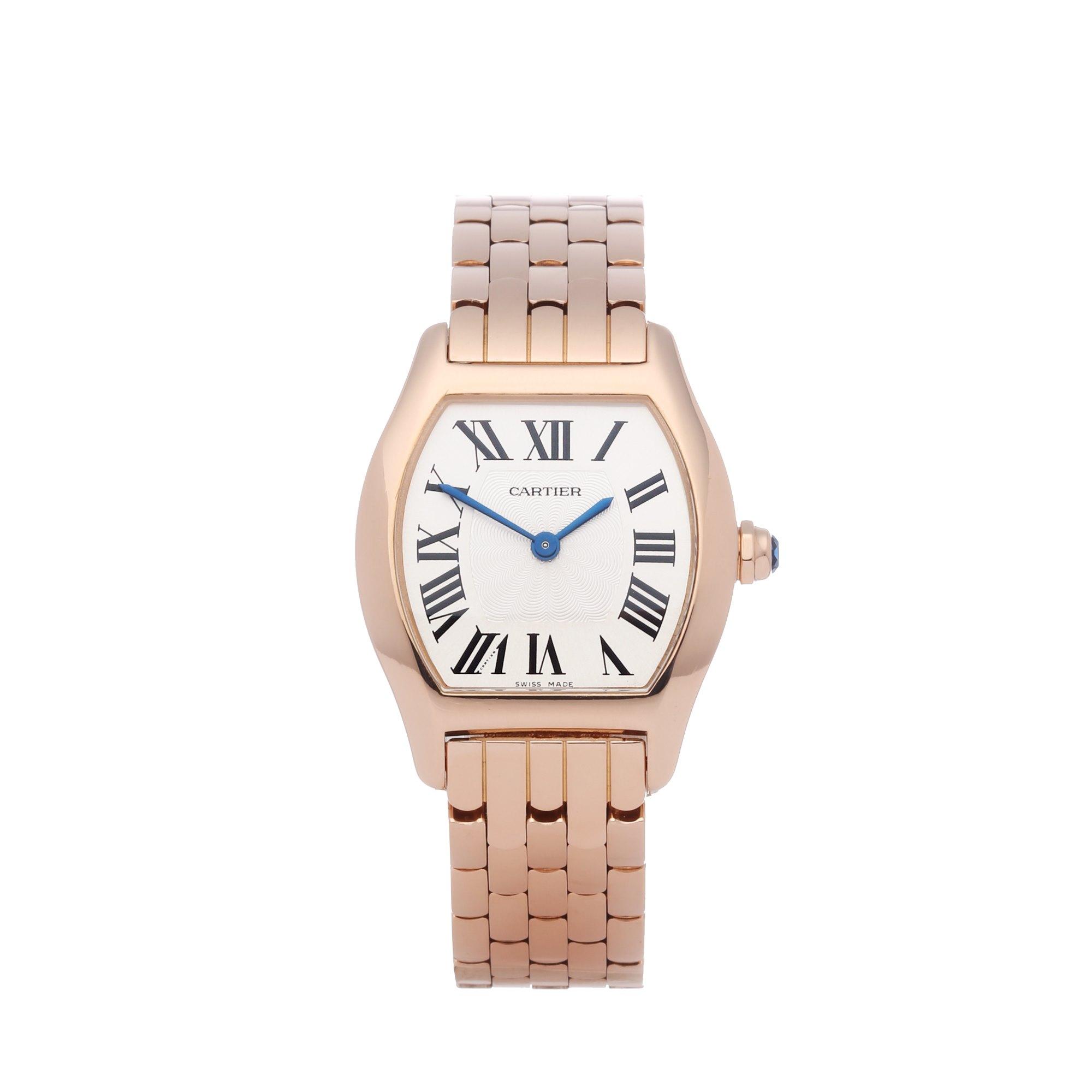 Cartier Tortue 18K Rose Goud 3698