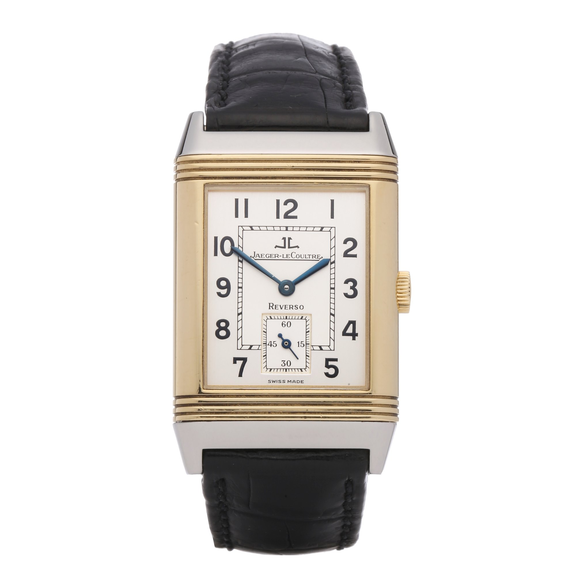 Jaeger-LeCoultre Grand Taille 18K Yellow Gold & Stainless Steel 270.5.62