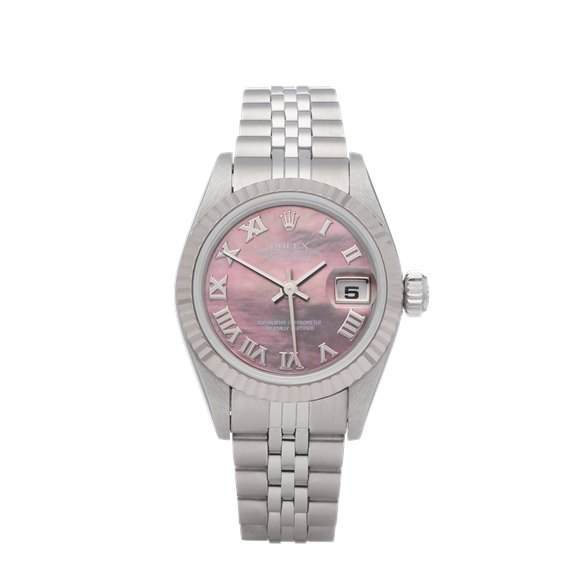 Rolex Datejust 26 18K White Gold & Stainless Steel - 79174NR