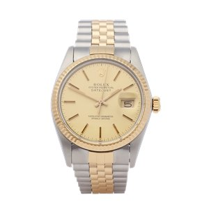 Rolex Datejust 36 18K Yellow Gold & Stainless Steel - 16013