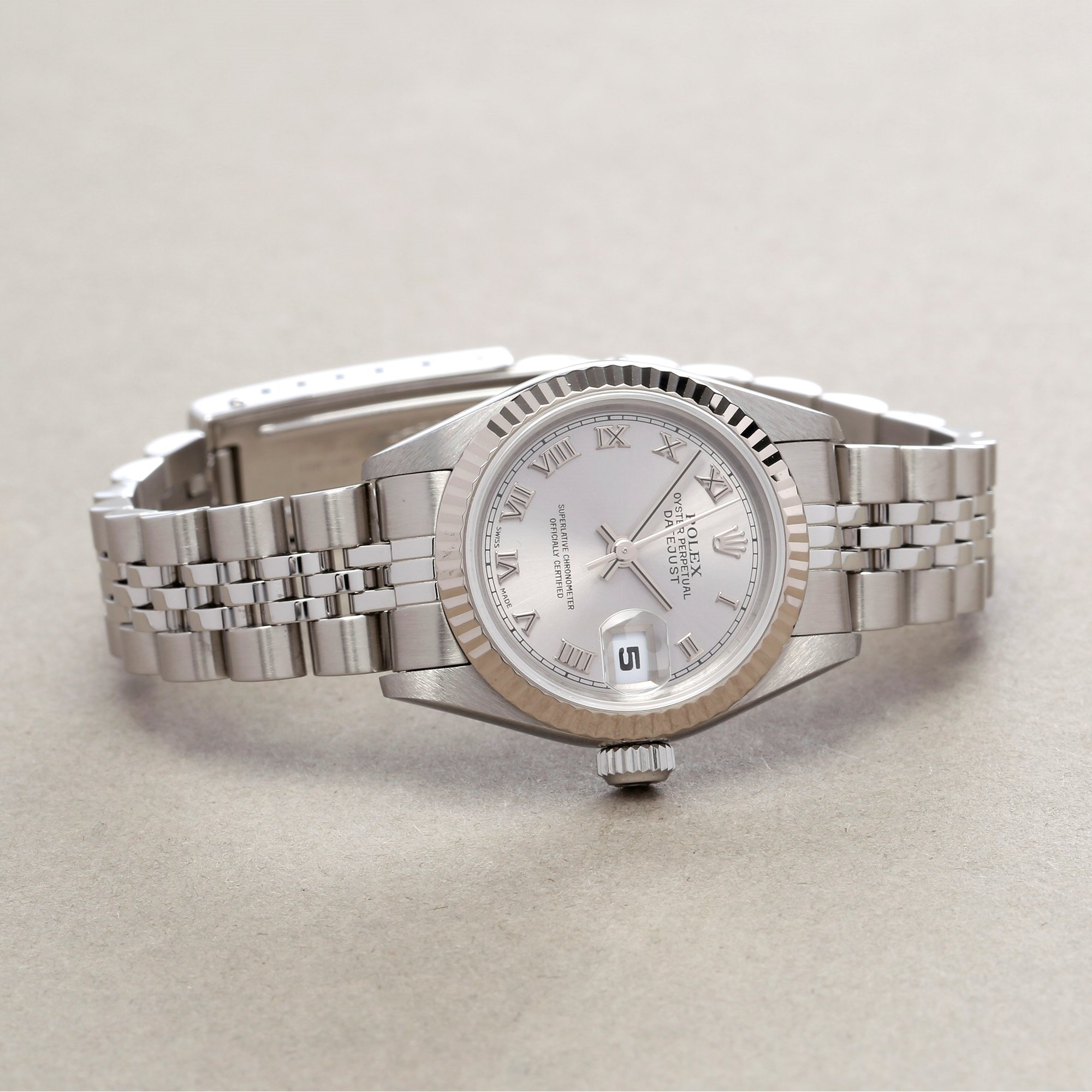 Rolex Datejust 26 18K White Gold & Stainless Steel 79174