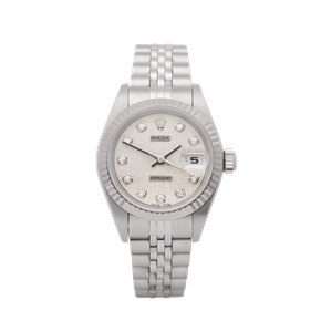 Rolex Datejust 26 18K White Gold & Stainless Steel - 69174