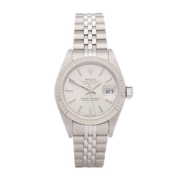 Rolex Datejust 26 18K Stainless Steel & White Gold - 79174