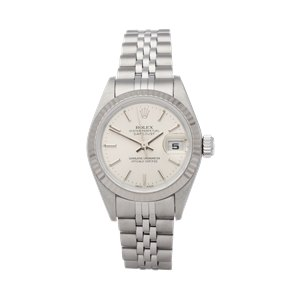 Rolex Datejust 26 18K White Gold & Stainless Steel - 79174