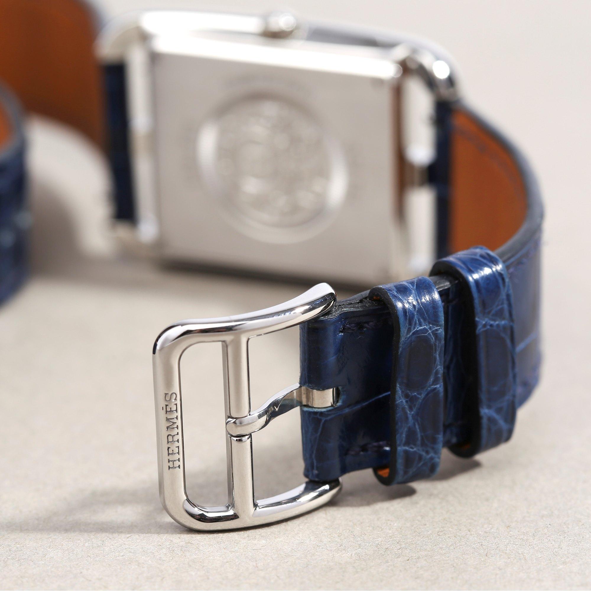 Hermès Cape Cod Lapis Lazuli Dial Stainless Steel CC3.730