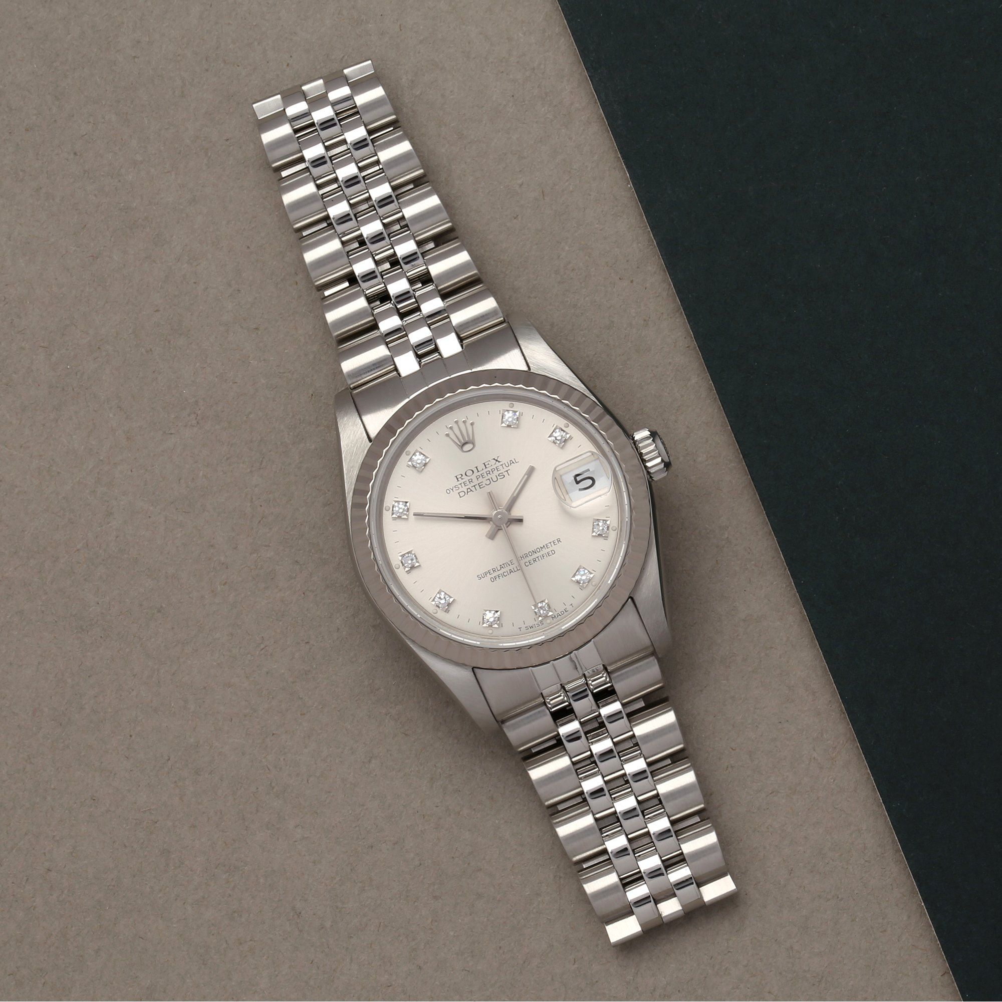 Rolex Datejust 31 Roestvrij Staal 68274