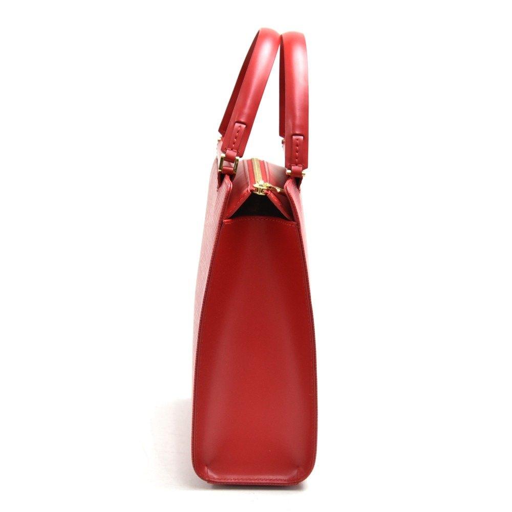 Louis Vuitton Red Epi Leather Figari PM