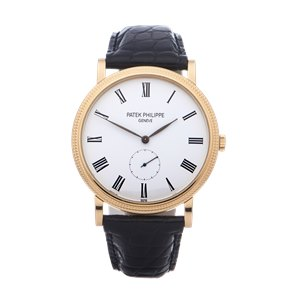 Patek Philippe Calatrava 18K Yellow Gold - 5119J-001