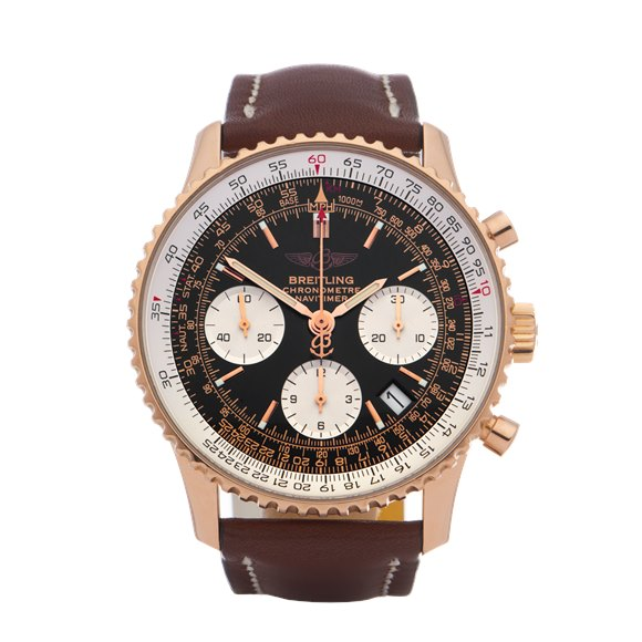 Breitling Navitimer Limited Edition of 500 Pieces 18K Rose Gold - R23322