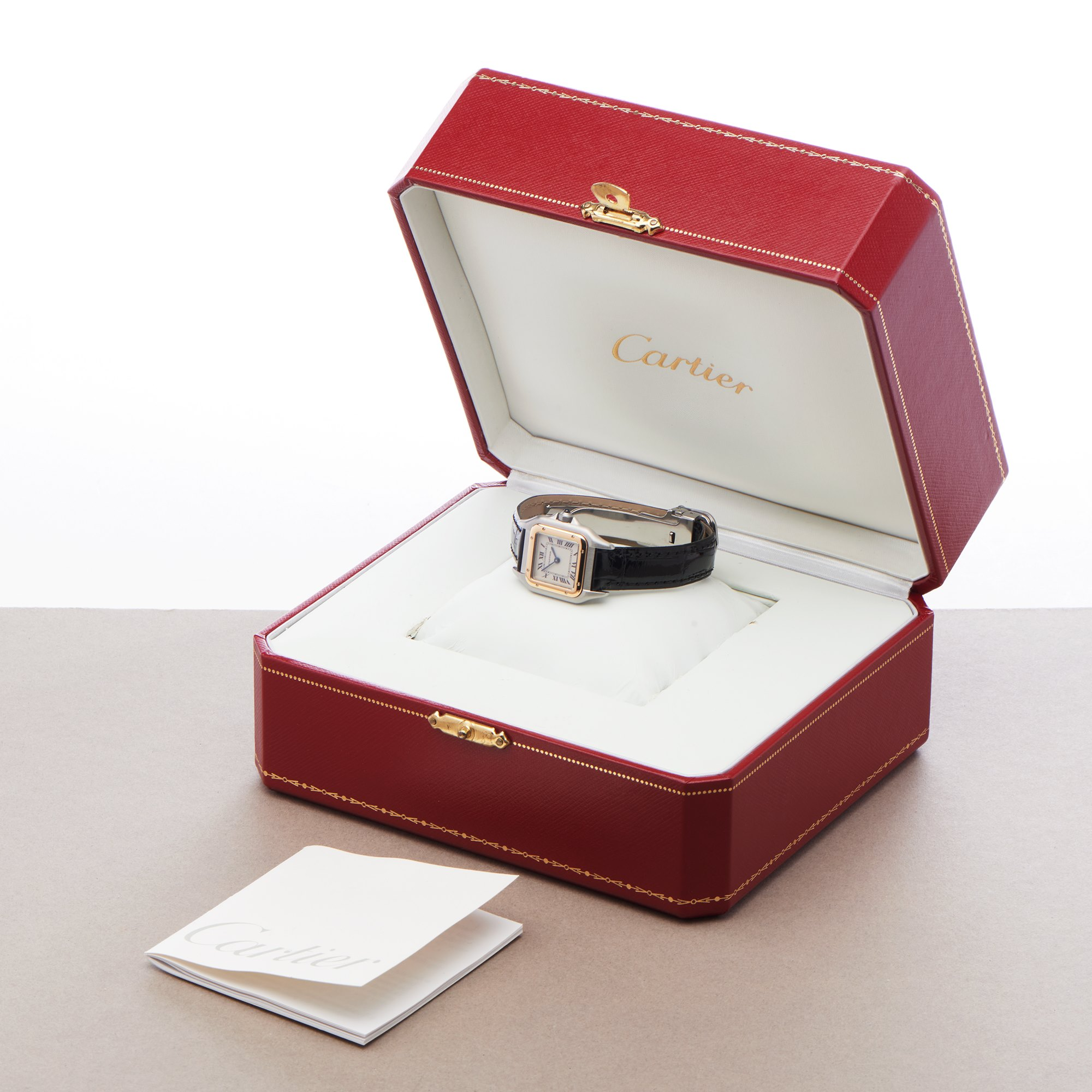 Cartier Panthère 18K Yellow Gold & Stainless Steel 1120