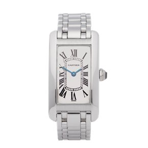 Cartier Tank Americaine 18K White Gold - 1713