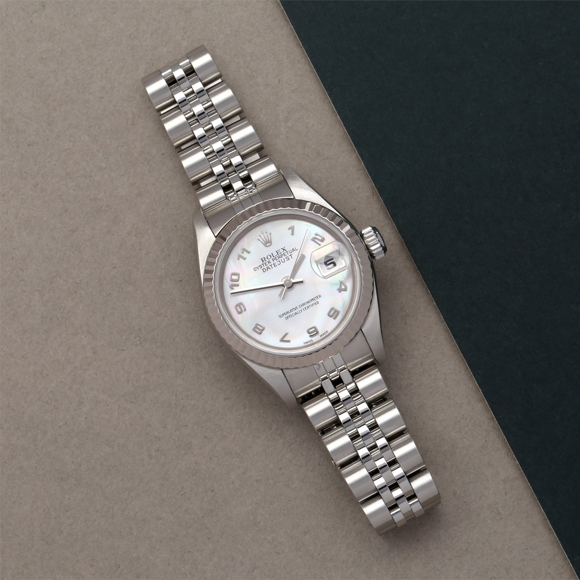 Rolex Datejust 26 Roestvrij Staal 79174NR
