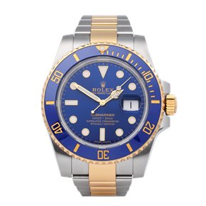 Rolex Submariner 18K Yellow Gold & Stainless Steel - 116613LB
